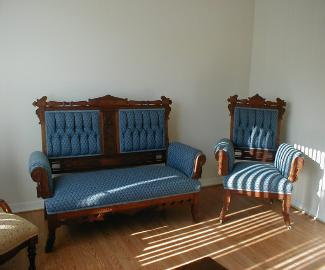 eastlake-restored-tufted-settee-chair-matching